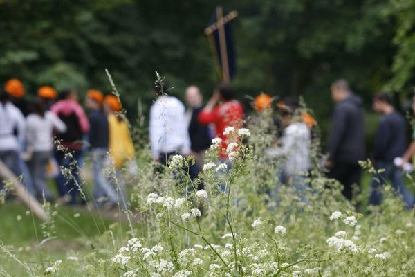 Le dernier rassemblement géant de scouts à Jambville remonte à 2012 (illustration).