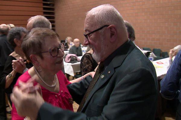 Suzanne, 90 ans, est une des doyennes