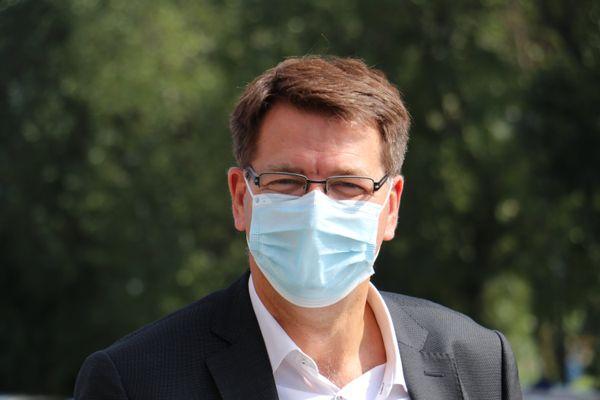 Le maire de Dunkerque, Patrice Vergriete.