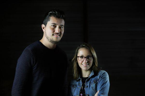 Selda et Julien Nguyen, fondateurs d'Invite1chef.com
