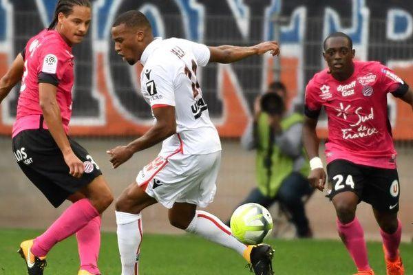 Les Montpelliérains se sont imposés, à domicile au stade de la Mosson, face à Nice 2 à 0 - 15 octobre 2017
