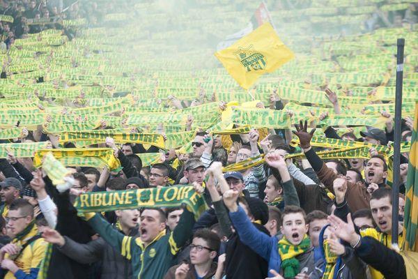 Un huis-clos partiel sur l'intégralité de la Tribune Loire du Stade de la Beaujoire lors du match contre Guingamp
