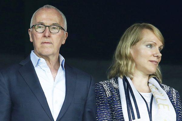 Margarita Louis-Dreyfus (à droite) a préféré vendre l'OM à Frank McCourt (à gauche).