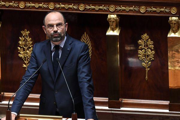 Le Premier Ministre Edouard Philippe à l'Assemblée Nationale le 12 juin 2019