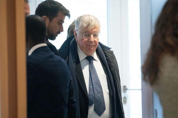 L'ancien patron de France Télécom Didier Lombard lors du procès dans l'affaire de harcèlement moral à France Télecom.