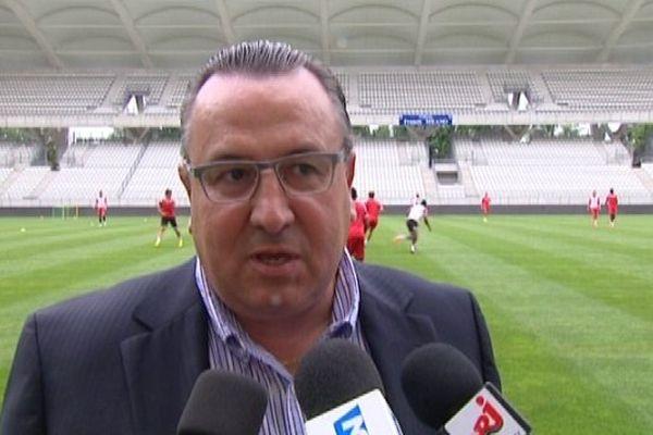 Le président du Stade de Reims Jean-Pierre Caillot livre ses impressions sur la saison 2013/2014.