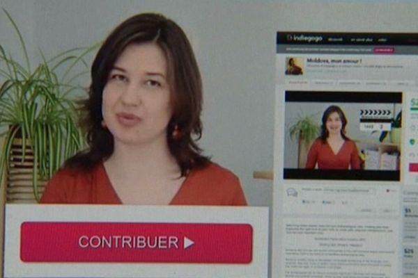 Olga Turcan a même réalisé une petite vidéo qu'elle a mis en ligne pour présenter son projet.