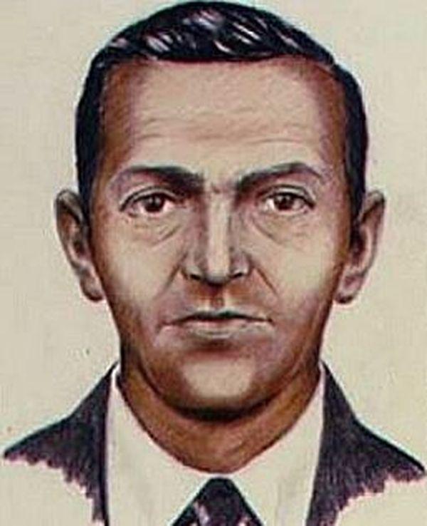 Portrait-robot de D. B. Cooper élaboré par le FBI en 1972