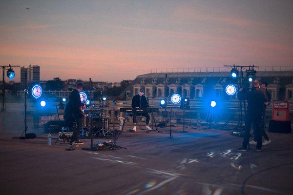 Colours in the Street, concert sur le toit du Théâtre Auditorium de Poitiers.