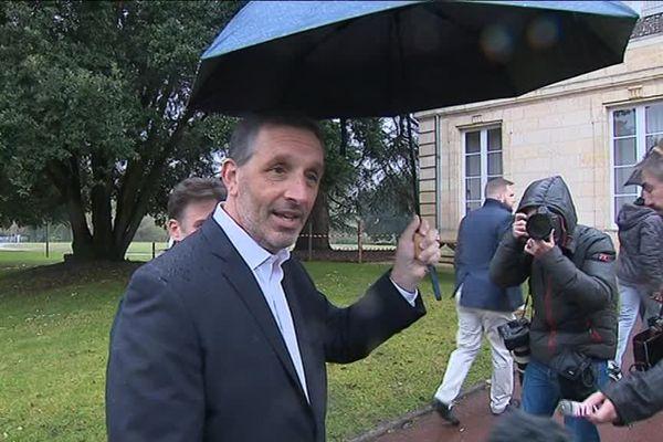 Joe Da Grosa au Haillan, propriétaire des Girondins de Bordeaux (au moment de son arrivée à la tête du club)