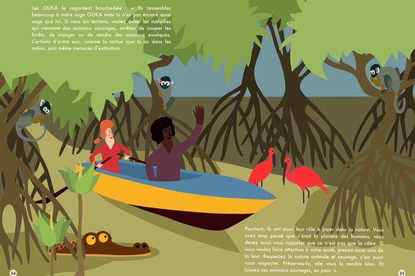 Le but de l'ouvrage est de sensibiliser à l'importance de la biodiversité dans le monde