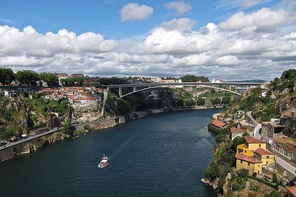La ville de Porto, au Portugal