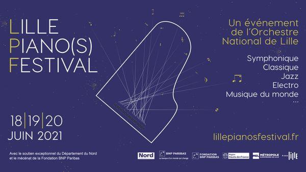 Trois jours d'effervescence musicale pendant le Lille Piano(s) Festival 2021