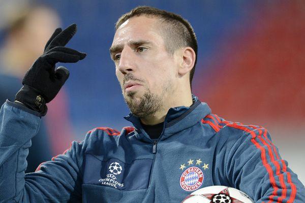 Franck Ribéry évolue depuis 2007 sous les couleurs du Bayern du Munich (photo prise le 5 novembre 2013)