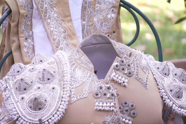 Ce costume, Max l'a porté pour la dernière fois le 14 septembre à Nîmes.