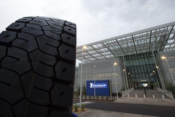 Le Centre recherche et technologie Michelin Ladoux que visitera Emmanuel Macron a été inauguré en 2016. La CGT appelle à un rassemblement, jeudi 25 janvier, devant le site.