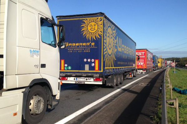 Gros bouchons dans le Calaisis ce jeudi matin.