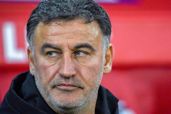 Christophe Galtier, entraîneur du LOSC.