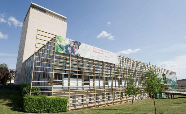 Le campus de l'université de Bourgogne