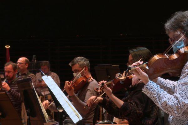 Le concert a été enregistré à la Philharmonie de Paris, le 10 novembre.