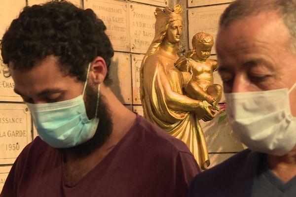 Les musulmans ont fait une prière à Notre-Dame de la Garde pour les victimes de l'attentat de Nice