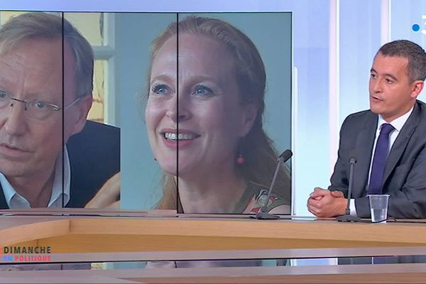 Gérald Darmanin, invité de Dimanche en politique, annonce soutenir Violette Spillebout à Lille.
