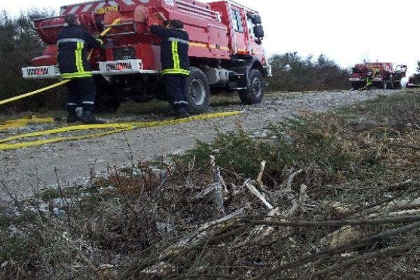 Les pompiers haut-viennois en formation pour lutter contre les feux de broussaille