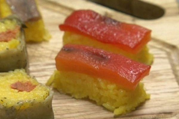 Des sushis aux couleurs catalanes