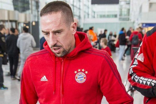 Franck Ribéry en janvier 2016.