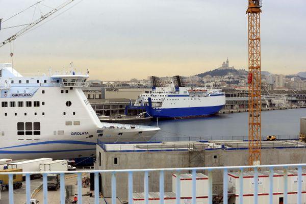 Un ferry de la compagnie La Méridionale à destination de Marseille,  va rapatrier le 10 avril prochain, des français qui étaient coincés au Maroc.