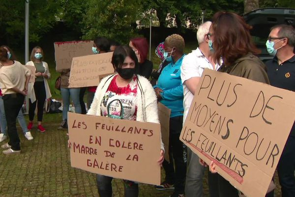 Fin de la grève à l'EHPAD des Feuillants à Poitiers