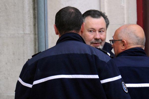 Philippe Berre lors de sa comparution devant le tribunal correctionnel de La Rochelle le 5 avril 2012