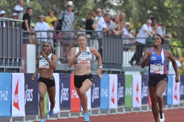 Elyse Trynkler a terminé 4e des championnats de France, fin juillet.