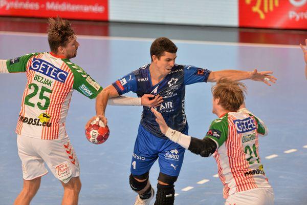 Le Montpellier Handball a joué dernièrement contre Magdebourg (Allemagne) en Ligue Européenne.