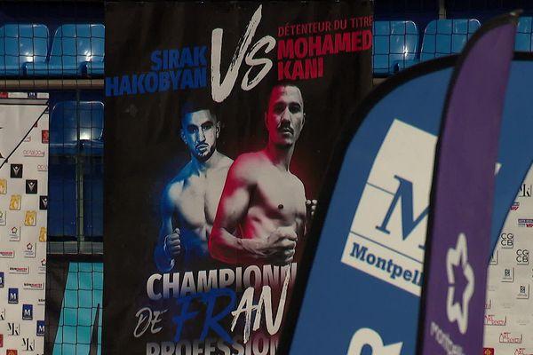 Un combat entièrement financé par les partenaires publics et privés du champion de France de Boxe.