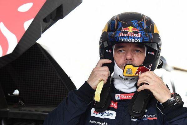 Sébastien Loeb, le 4 janvier 2018 peu avant le départ du Paris-Dakar.