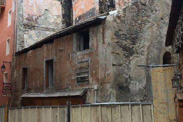 Briançon : un immeuble en péril devra être sécurisé d'ici la fin mars