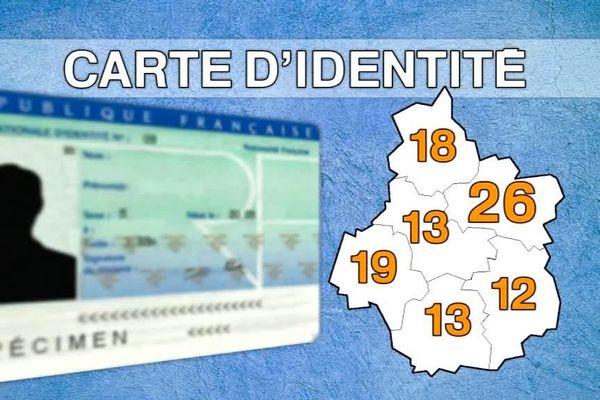 Seules 101 communes sur 1841 seront habilités à délivrer des cartes d'identité en région Centre-Val de Loire
