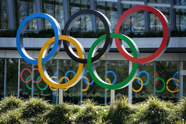 Le logo des Jeux Olympiques. Photo d'illustration.