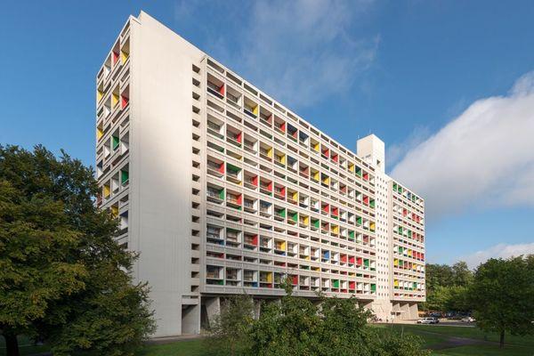 La cité radieuse de Briey en Meurthe-et-Moselle, construite par Le Corbusier mais pas classée à l'Unesco