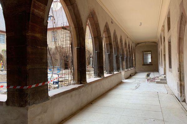 Un véritable havre de paix au coeur de Colmar. La vigne vierge va être conservée.