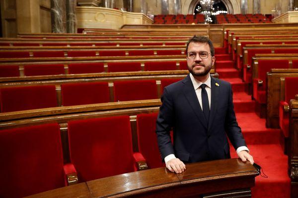 Pere Aragonés est  élu président régional de la Catalogne