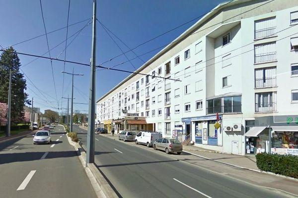 Boulevard de Bel Air à Limoges