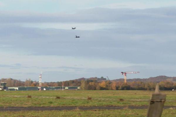 L'armée de l'air a rendu hommage à leur confrères de l'armée de terre