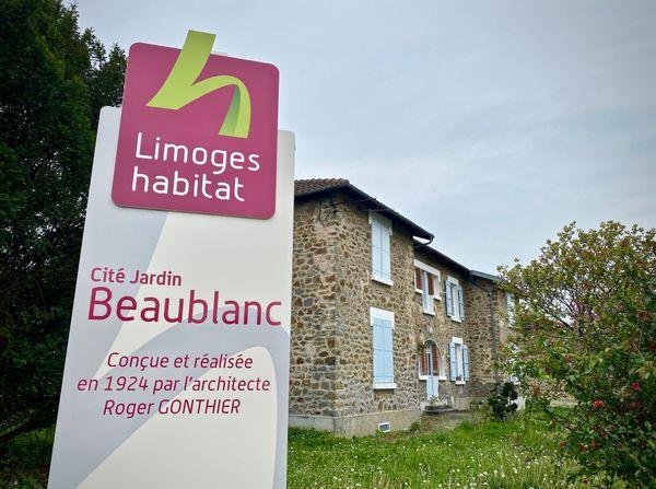 La Cité jardin de Beaublanc en 2020