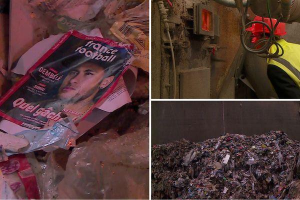 Les visiteurs ont pu découvrir les entrailles du centre de gestion des déchets de la métropole grenobloise.