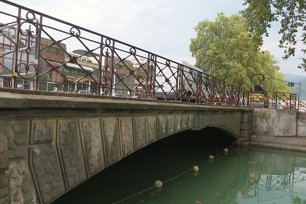 Pont Albert Lebrun à Annecy