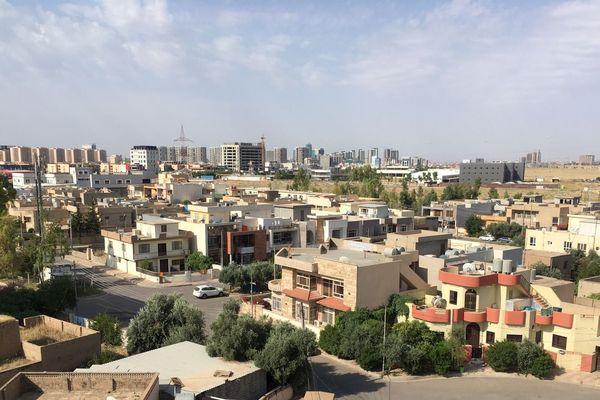 Erbil capitale du Kurdistan