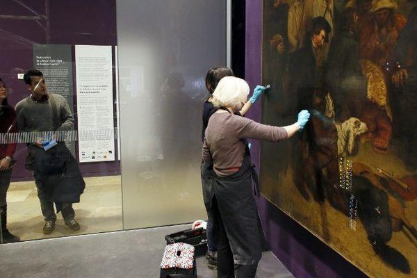 """Musée d'Orsay : le lifting de """"l'atelier du peintre"""" de Gustave Courbet"""