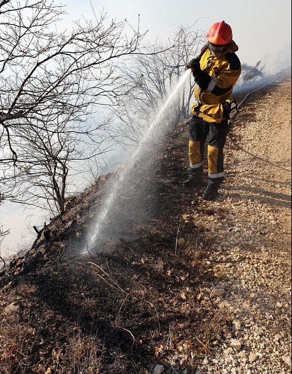 10 hectares sont partis en fumée.